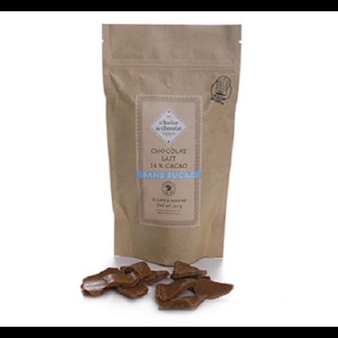 Eclats de chocolat au lait 38 % de cacao