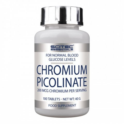Chromium Picolinate 100 Tablets (coupe-faim)