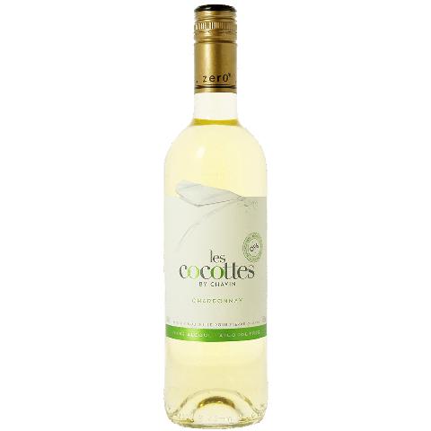 Vin Blanc Les Cocottes sans alcool 75cl