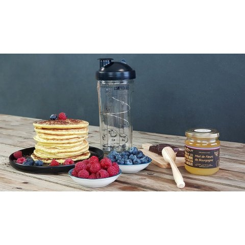 Coffret Shaker à crêpes, pancakes, gaufres