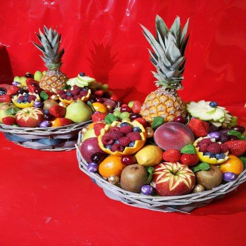 Corbeille de fruits et/ou légumes au choix. Commande sous 24H