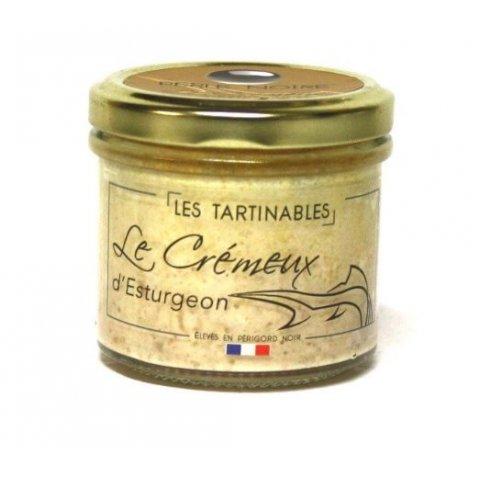 Crémeux d'Esturgeon caviar Perle Noire