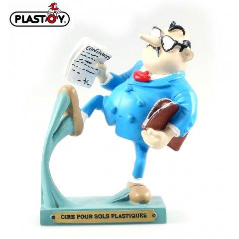 Figurine Gaston Hachette invention N°9