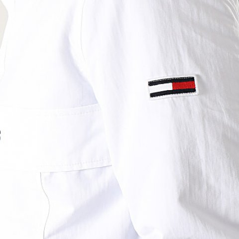 Veste Homme Outdoor Padded Popover 7121 Blanc TOMMY HILFIGER JEANS XS/2XL