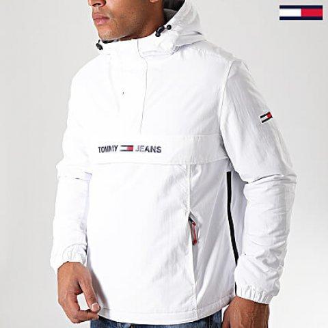 Veste Homme Outdoor Padded Popover 7121 Blanc