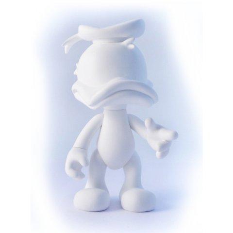Donald Duck blanc Artoyz 22cm Vinyle Leblon Delienne