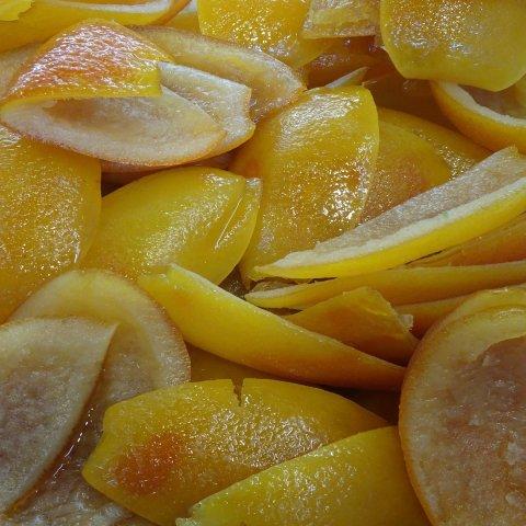 Fruits confits entiers de France