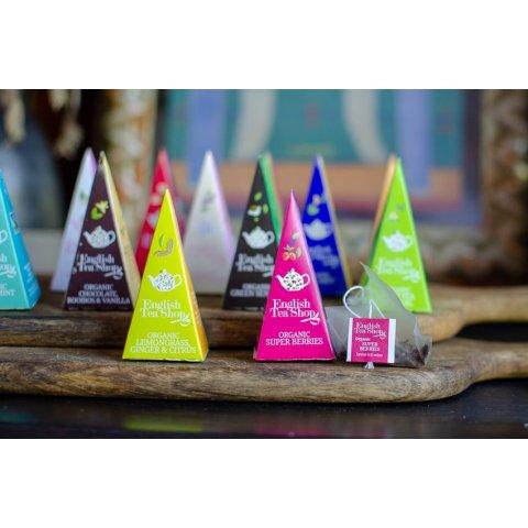 Coffret Prisme Collection Super-Fruits de thés et infusions bio