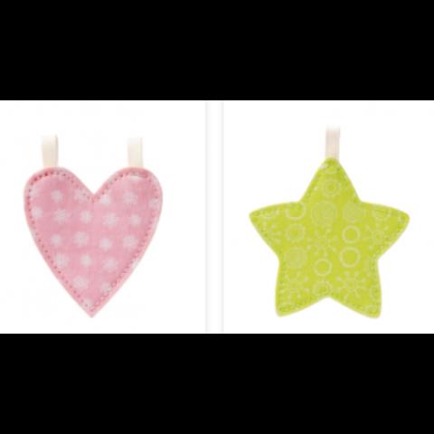 Lettres et Pyctogrammes étoile/coeur LILLIPUTIENS