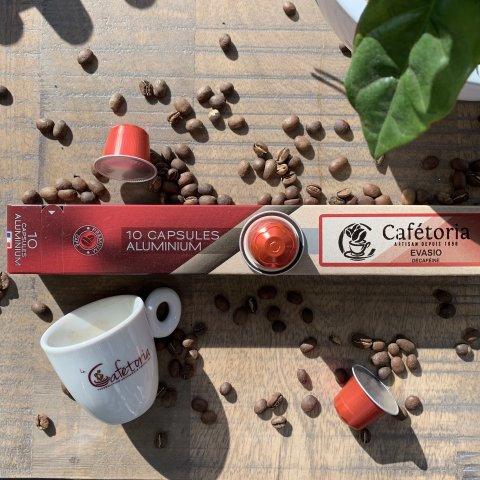 Capsules compatibles Nespresso®EVASIO