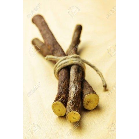 Fagot de bois de réglisse
