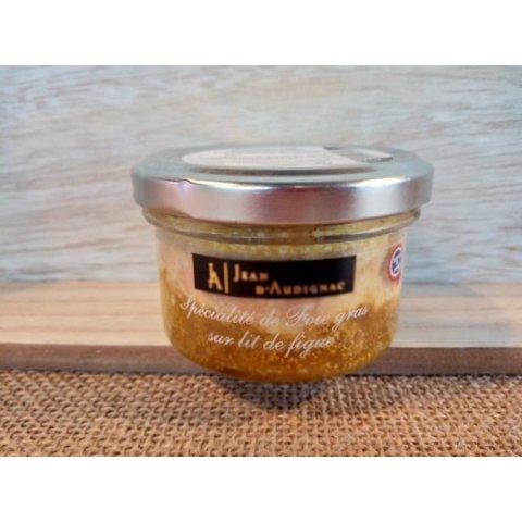 Foie gras sur lit de figues