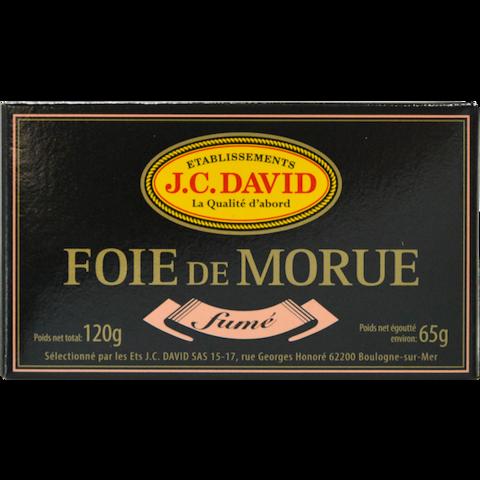 FOIE DE MORUE FUMÉ