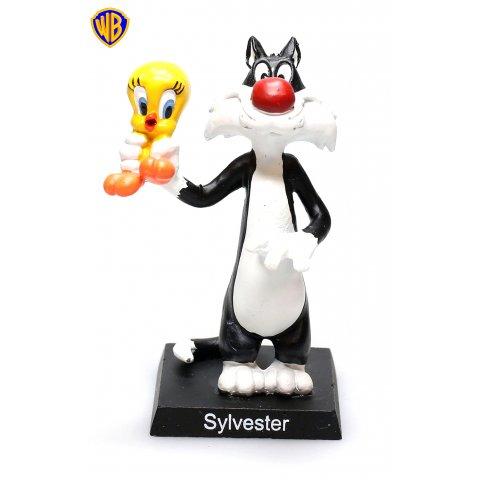 Figurine Métal Warner Sylvestre & Titi