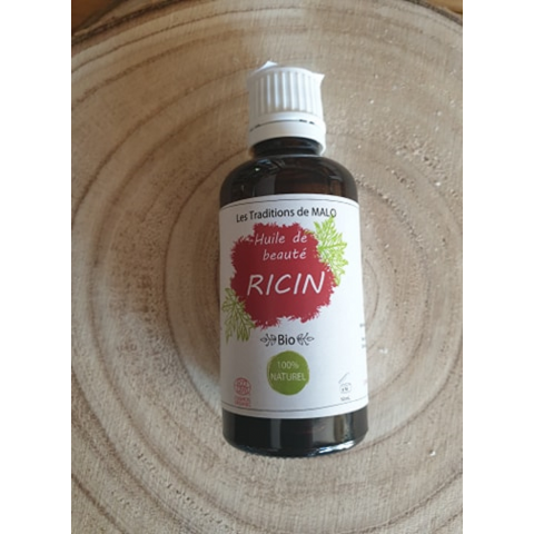 Huile de RICIN : Bio, 100% Naturelle