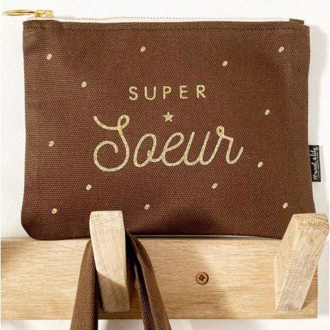 """Trousse """"SUPER SOEUR"""", MARCEL & LILY"""