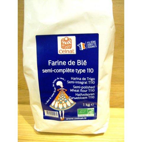 Farine de blé complète T110-CELNAT>
