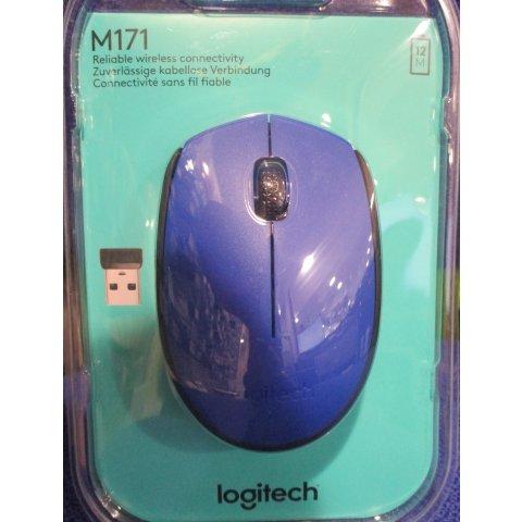 Souris sans fil M171 Bleu