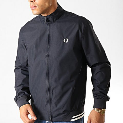 Veste Homme Zippée Twin Tipped Sports J100 NOIR- FRED PERRY S/2XL