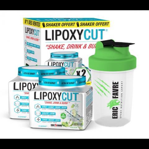 LIPOXYCUT LOT DE 2 + SHAKER OFFERT