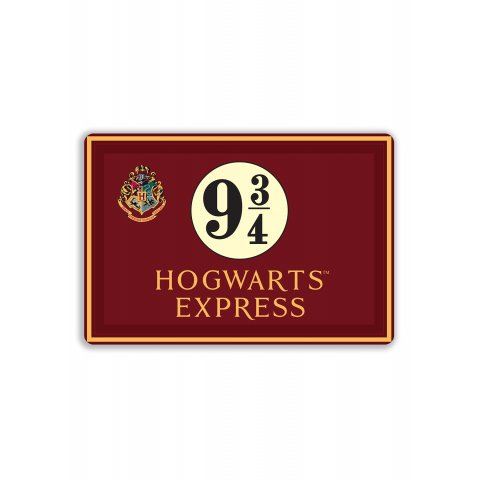Lot de 4 Sets de table Harry Potter 9 3/4 Hogwarts Express