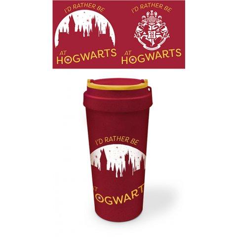 Mug de Voyage Harry Potter I'd rather be at hogwarts
