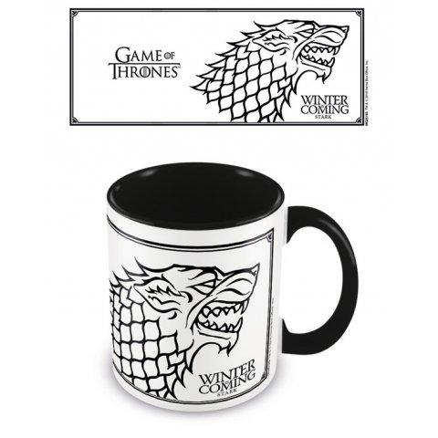 Mug Game of Thrones Winter is Coming Stark