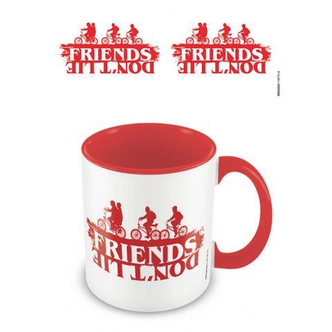 Mug Stranger Things Friends don't lie