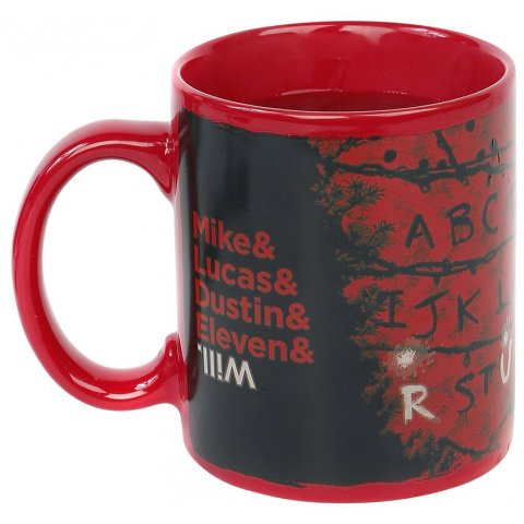 Mug Stranger Things RUN guirlande Thermoréactif