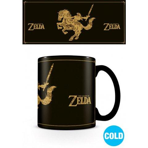 Mug Zelda Carte Thermoreactif Nintendo
