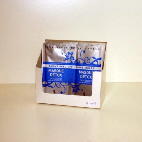 Masque Détox Oygénant - 2 doses- Secrets des Fées