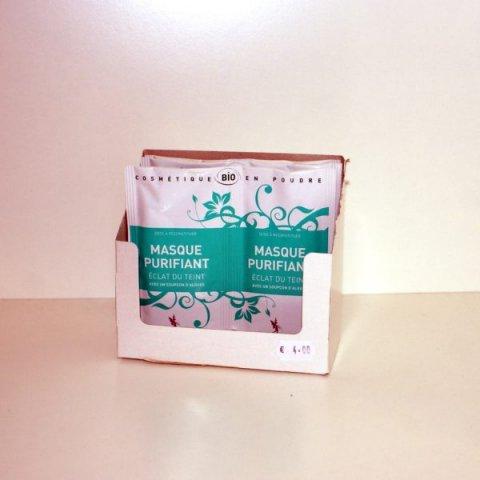 Masque Purifiant Eclat du Teint- 2 doses- Secrets des Fées
