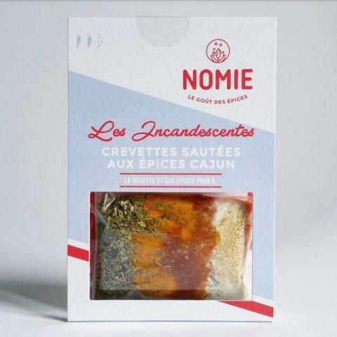 Épices pour Crevettes sautées aux épices Cajun. Les Incandescentes