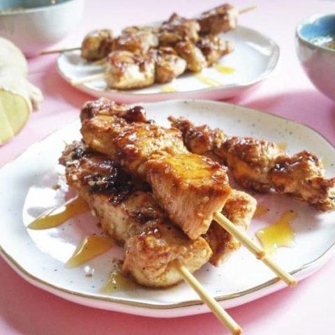 Épices pour Brochettes de poulet sésame et gingembre. Les Intrépides