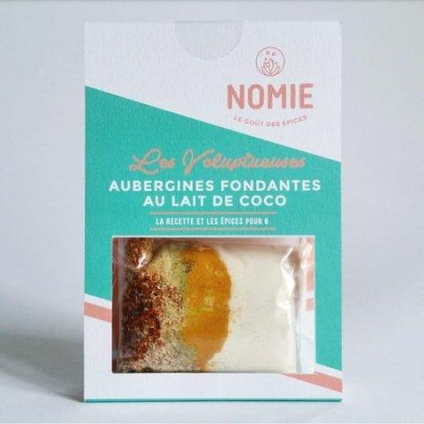Épices pour Aubergines fondantes au lait de coco. Les Voluptueuses