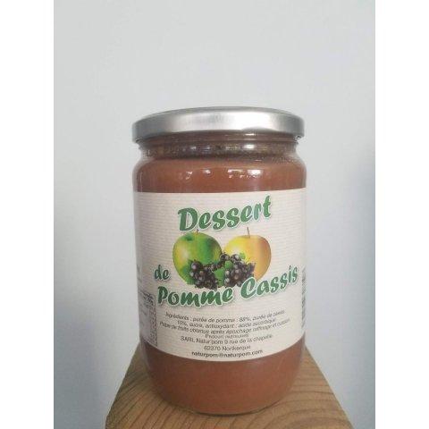 Dessert Pomme cassis