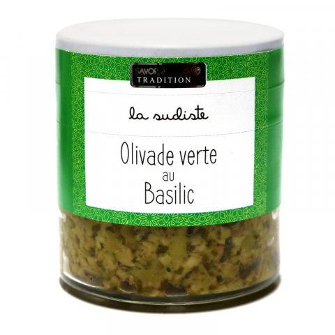 Olivade Verte au basilic