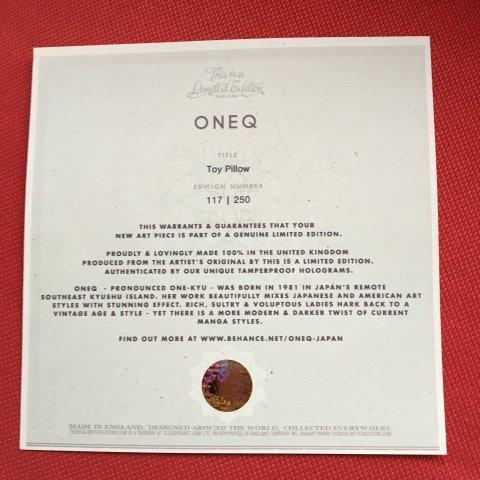 Coussin 60X60 Oneq série limitée