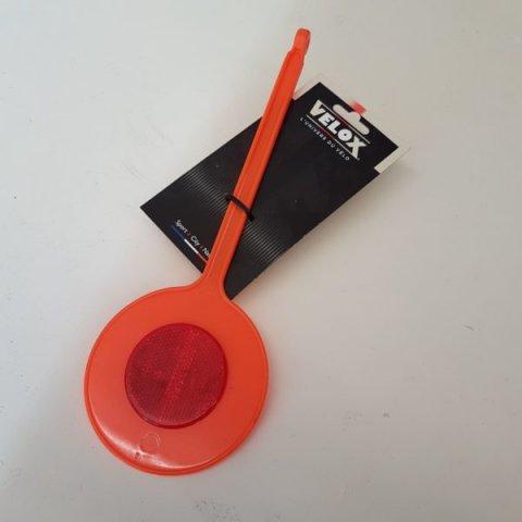 Ecarteur de danger orange Vélo VELOX