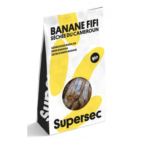 Banane séchée du Cameroun Bio