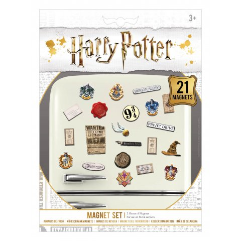Pack de 21 aimants magnets Harry Potter