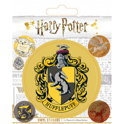 Pack de 5 Stickers Harry Potter Poufsouffle