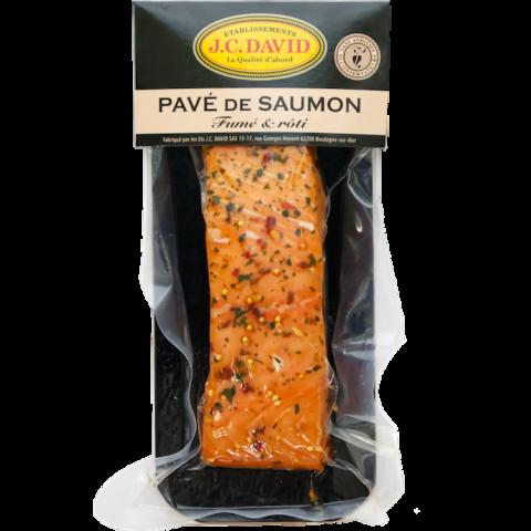 Pavé de Saumon aux épices de Provence