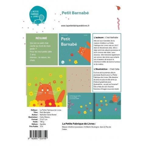 """Livre pour Enfants """"Petit Barnabé"""""""