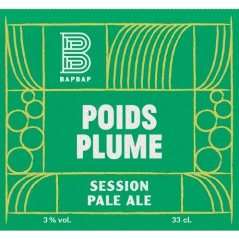 Bière BAPBAP Poids Plume - Session Pale Ale