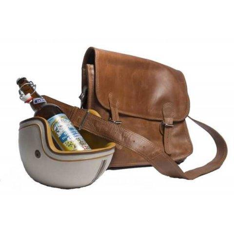 Porte bouteille CASQUE MOTARD Vintage