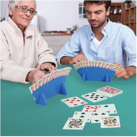 Porte carte à jouer 15 cartes lot de 2. AIDAPT