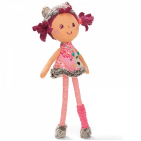 Mini poupée Césaria. LILLIPUTIENS