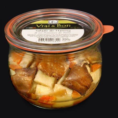Salade de Hareng et ses Pommes de Terre