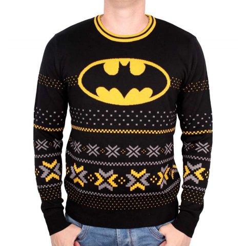 Pull de Noël Batman